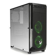 CASE PC GAMING ATX BLAKCDOOM GS-0485GR-CARD READER SD-VENTOLE VERDI DA 12CM