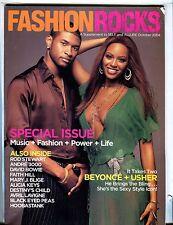 Fashion Rocks Magazine October 2004 Beyonce Usher EX 021517jhe