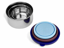 MIRA Set of 3 Stainless Steel Lunch Box and Food Storage Container