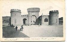 1902 Bologna Porta Saragozza destinazione Massa Guller FP B/N VG ANIM