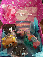 Lot of 6 Doki Doki April 2017 Japan Crate Exclusives-Rilakkuma Disney & More