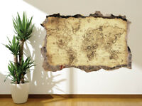 Wallpaper mural Vintage map with compass photo wall mural 16432411 vintage map