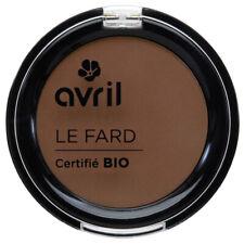 Fard à paupières Cannelle mat Certifié Bio Vegan Naturel Cosmétique AVRIL