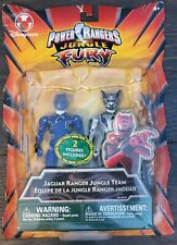 Power Rangers Jungle Fury Jaguar Ranger Jungle Team - BLUE BLACK RANGER NEW