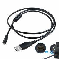 PwrON USB Data Sync Cable Cord for FujiFilm Finepix S800 fd S700 S1850 HD Camera
