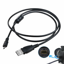 PwrON USB Charger PC Charging Data Sync Cable for Sony Cybershot DSC-W830 Camera