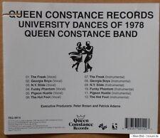 Queen Constance nastro-University Dance of 1978-CD