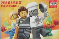 2016 LEGO WALL CALENDAR Sealed! Never Used!