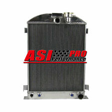 3 ROW Radiator FOR 30-31 Ford Model-A CHEVY Engine Grille Shells Stock Height US