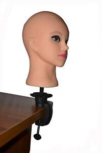 Wig hair model adjustable wig tripod stand hair bracket mannequin training head