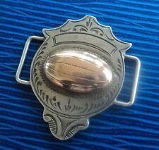 Rara Medalla De Plata Rugby cariño 1926 Kendal RUFC Cumbria-Pulsera Colgante