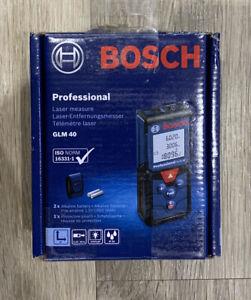 BOSCH GLM 40 LASER MEASURE - New/Sealed