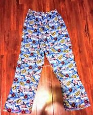 Boy's WWF/WWE Red, White & Blue JOHN CENA Sleep Pants, Sleepwear Sz XL (14/16),