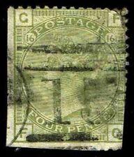 1877 Great Britain #70 Queen Victoria Wmk 23 - Used - Fine - CV$275.00 (E#2907)