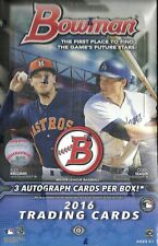 2016 Bowman Factory Sealed Baseball Hobby Box  Corey Seager RC ROOKIE  ??