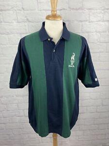 Vintage Atlanta 1996 Olympic Games Collection Bold Striped Polo Shirt XL 90s USA