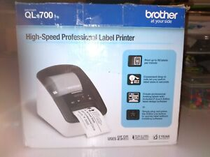 Brother QL-700 High-Speed Professional Thermal Shipping Label Printer Works!