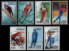 Dominica 1997 - Mi-Nr. 2365-2371 ** - MNH - Olympia Nagano