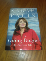 Going Rogue: An American Life by Sarah Palin (2009, Hardcover) 1st/1st #uf