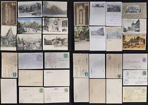 20 Hermosa Tarjetas Postales 1899- 1942 de La Resina / Goslar Buen Estado