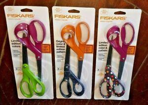 "2pc Fiskars 8"" Scissors Set - Choose From *3* Various Styles!"