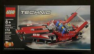 LEGO Technic Power Boat 42089 Retired NEW