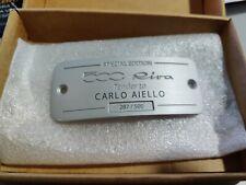 71807924 Badge Unico 500 Riva Special Edition Tender to Carlo Aiello Originale