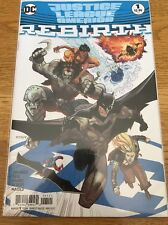 Justice League Of America Rebirth 1 Variant DC Comics 2017 NM