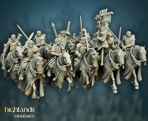 Questing Knights, Highlands Miniatures, Bretonnia Proxies, Aos, 9th Age