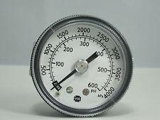 "Pressure Gauge 164142 3 1/2"" 30 PSI 1/4"" LMC"