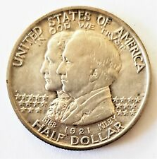 1921 Alabama 1/2 Half Dollar Silver Centennial Coin United States Commemorative