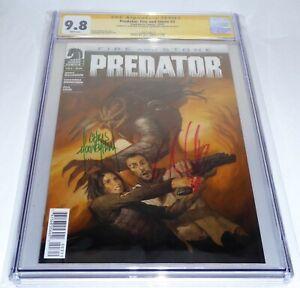 Predator: Fire and Stone #3 CGC SS Signature Autograph MOONEYHAM WILLIAMSON 9.8
