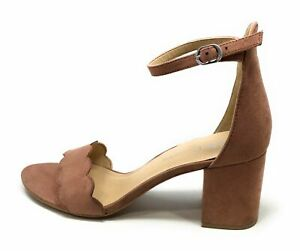 CL By Chinese Laundry Jayne Block Heel Sandal Deep Rose Size 9 M US