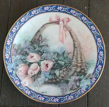 Lena Lui Basket Bouquets Collector Plates 4 plates