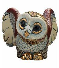 DeRosa Rinconada Barn Owl NIB # F105 De Rosa Ceramic NEW IN BOX