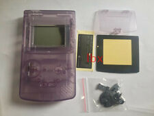 R Transparent Full Housing Shell Case Cover Part for Nintendo GBC Gameboy Color