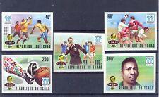 Chad, Tchad 1977 Argentina '78, World Cup set MNH VF.