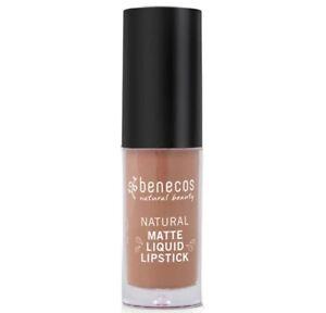 New Benecos Natural Natural Matte Liquid Lipstick Desert Rose.16oz