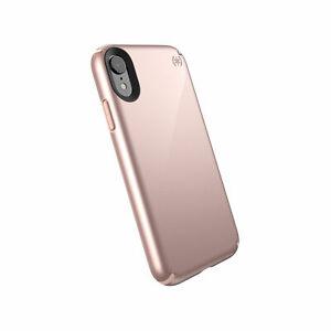 Speck Case Presidio Metallic Rose Gold Metallic/Dahlia Peach iPhone XR