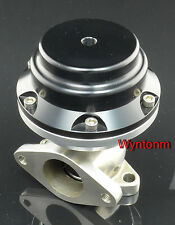 38MM 14 PSI External Wastegate Turbo Stainless Steel Dump Valve Anodize Black II