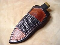 Custom Leather Sheath for BUCK 692 Vanguard, 691, 191, 192 (left hand)