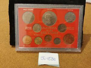 Great Britain, Pre-Decimal Coin Type Set in Sandhill Style Case, JU1586