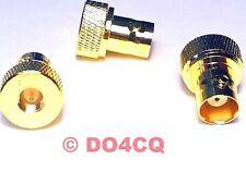 Adapter SMA Stecker auf BNC Buchse - speziell für Handfunkgeräte - sehr stabil