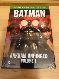 DC EAGLEMOSS ARKHAM UNHINGED Volume 1 UPSELL 08 Graphic Novel Collection SEALED