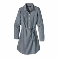 BNWT Patagonia RRP $119 Women's Dress Featherstone Button Up Shirt Size 8