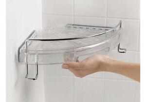 Shower Caddy Corner Bath Shelf Soap Holder OXO 1323280 - Good Grips