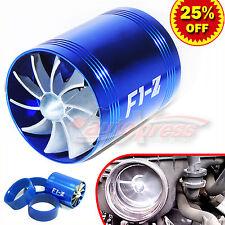 64-74mm Supercharger Turbonator Turbo F1-Z Fuel Saver ECO Fan Dual Propellers BL