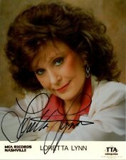 Country Star LORETTA LYNN Signed Photo