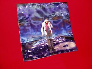 """Michael Jackson This Is It Rehearsal Pose Pillow Case  New 15.5"""" by 15.5"""""""