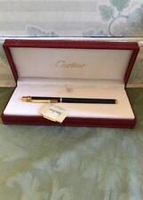 Cartier Rollerball Pen New In Box Style Diabolo